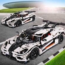 Yeshin 23002 Technic игрушечные машинки совместимы с Legoing MOC-4789 скоростная модель гоночной машины сборные Конструкторы для детей Рождественский подарок