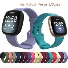 Colorful replacement Strap For fitbit Versa 3 Quick release bracelet For fitbit Sense Smart watch For Fitbit Versa3 accessorie