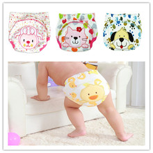 5pc/sets Baby Waterproof Reusable Cotton Diapers/children Cloth Diaper/reusable Nappies/training Pants/diaper Cover Washable new baby diapers washable reusable nappies grid cotton training pant cloth diaper 0 3y x16