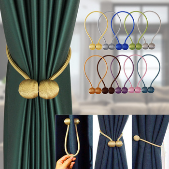1pc Magnetic Curtain Buckle Holder Tieback Window Accessories Decorative curtain tiebacks