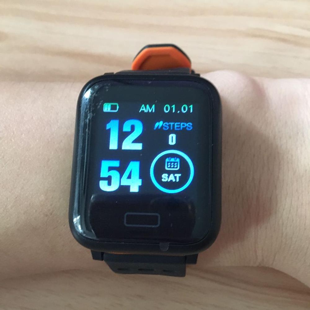 Reloj a6 Смарт часы для мужчин и женщин Водонепроницаемый Переносной
