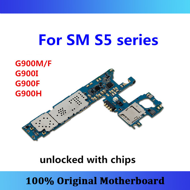 For Samsung Galaxy S5 Motherboard G900M/F,G900I,G900F,G900H Motherboard Android OS Install Test Full Functions