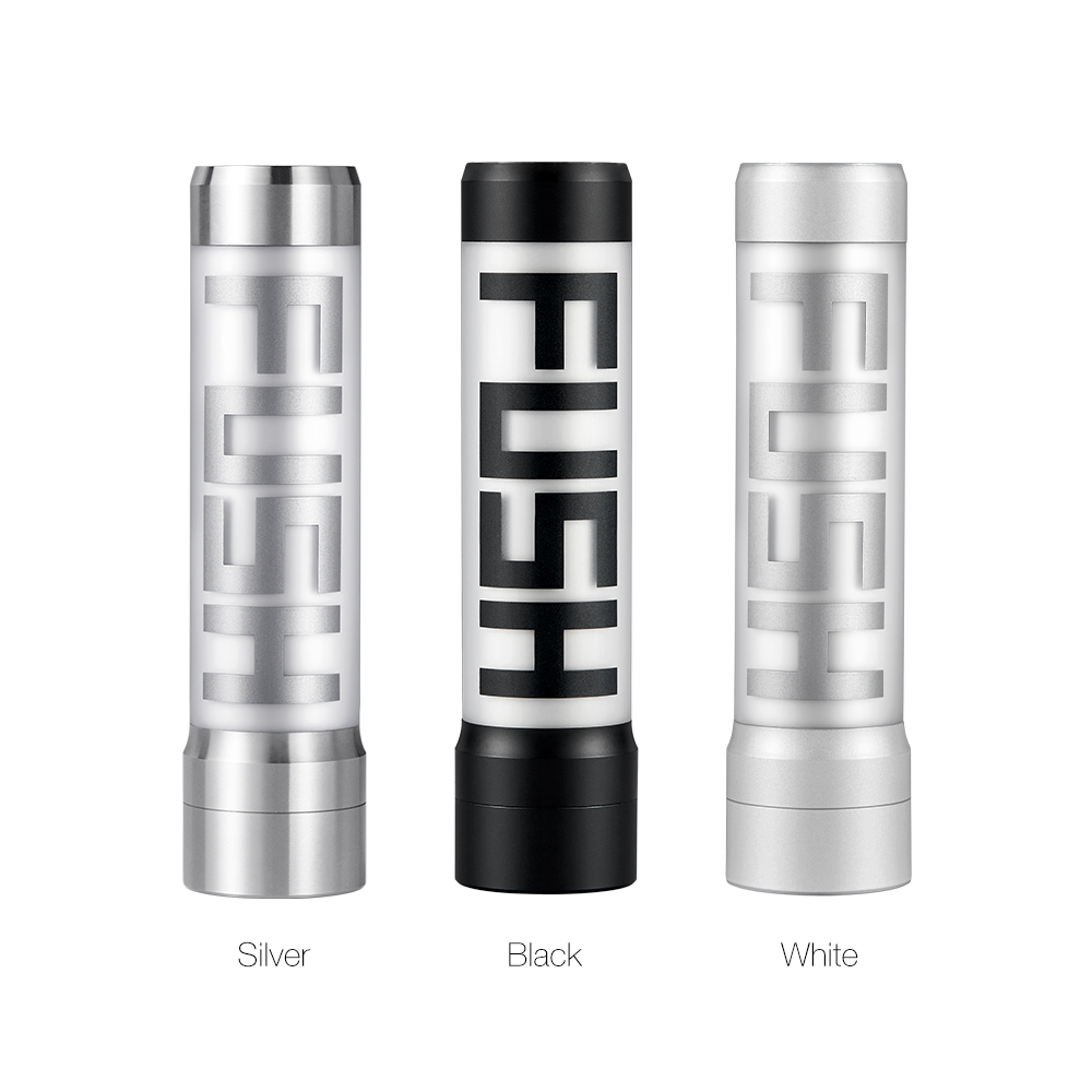 Original Acrohm Fush MOD With Breath Light Power By 18650 Battery Semi-Mech Mod & 0.01s Firing Speed Electronic Cigarette E Cig