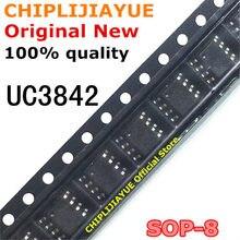 Puces IC originales et nouvelles UC3842 SOP8 3842B SOP 3842, UC3842A UC3842B SOP-8 SMD, 10 pièces