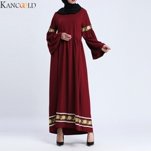 KANCOOLD New Causal Muslim Dress Abayas for Women Elegant Long Soft Turkish Islamic Robes Women's Clothing Prayer Garments