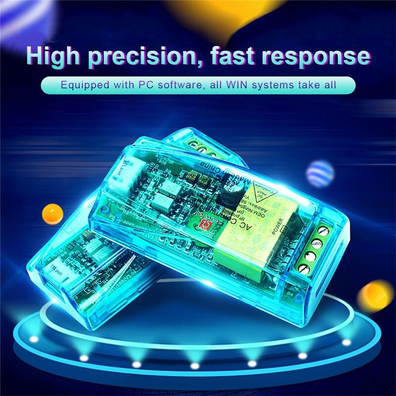 PZEM-004T AC Digital multifunción medidor vatios potencia voltios TTL módulo de prueba de corriente PZEM-004T con bobina 0-100A 80-260V AC Proyector de puerta led personalizado, luces de logotipo de Charco, imagen hd, proyección gobo de 20 vatios, rotación, lámpara de logotipo impermeable al aire libre