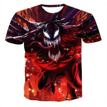 2020 t shirt men Newest Venom Marvel t-shirt 3D Printed T-shirts Men Women Casual Shirt Fitness T Tees Tops