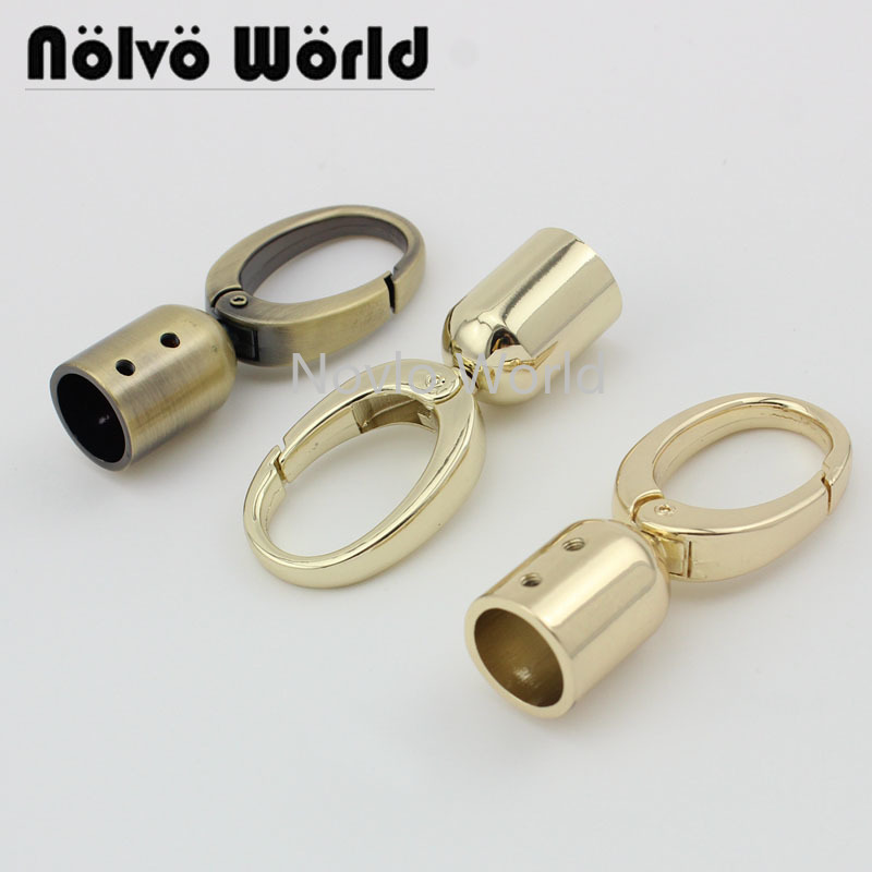 Wholesale 500pcs, 61*18mm, 5 Colors Accept Mix Color, Metal Hanger Connects Bag Handle With Screws Diy Hardware Accessories
