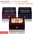Uhr Wickler für automatische uhren Neue Version 4 + 6 Holz Uhr Zubehör Box Uhren Lagerung Luxus
