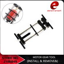 ElementAirsoft Für AEG Motoren mit runde typ welle EX121 Airsoft Motor Getriebe Werkzeug (Installieren & Entfernen) taktische Jagd Zubehör