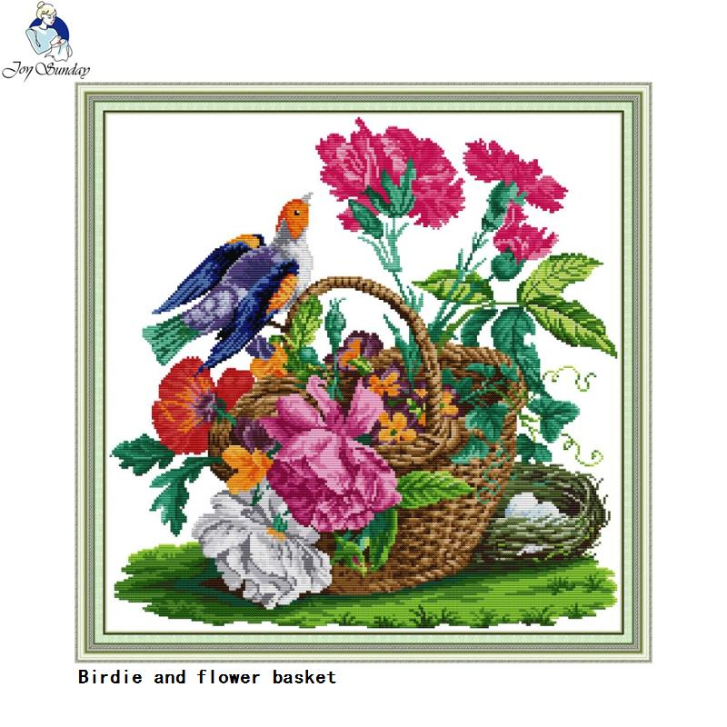 BNIP The Dolphins Cross Stitch Kit pre-printed 11ct aida 60 x 60cm 1