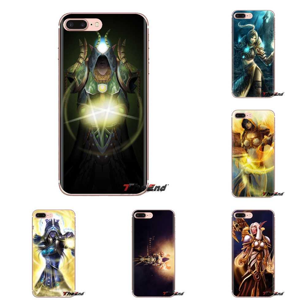 Silikon Case Cover untuk Huawei Kehormatan 5A LYO-L21 Y6 II Kompak Y5 2 Y5II Mate 10 Lite Nova 2i 9i dunia Warcrafts Dukun Imam