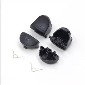 Image 3 - For PS4 Controller Repair Set L1 R1 L2 R2 Trigger Buttons 3D analog Joysticks Thumb Sticks Cap Conductive Rubber Screwdriver Kit