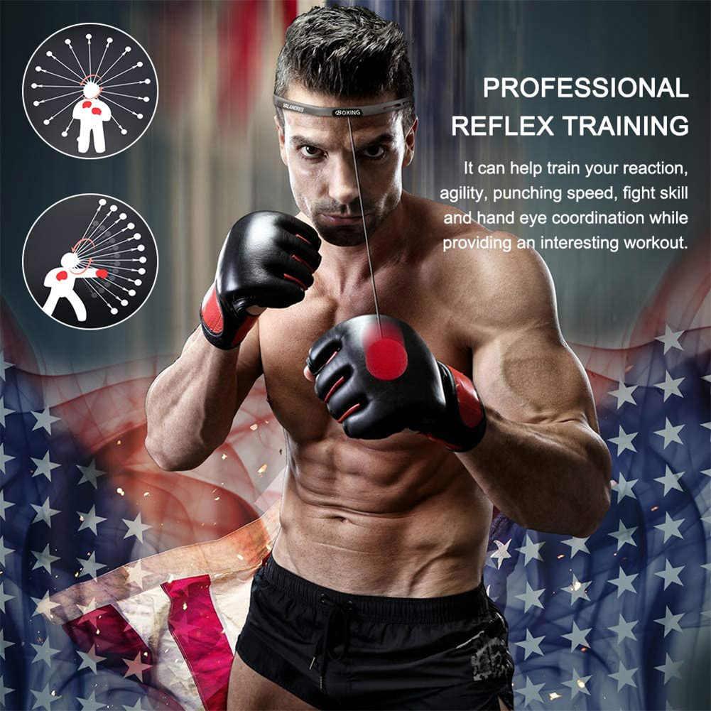 Seawang Boxing Reflex Speed Ball MMA Muay Thai Raising Hand Eye Reaction Punch Ball