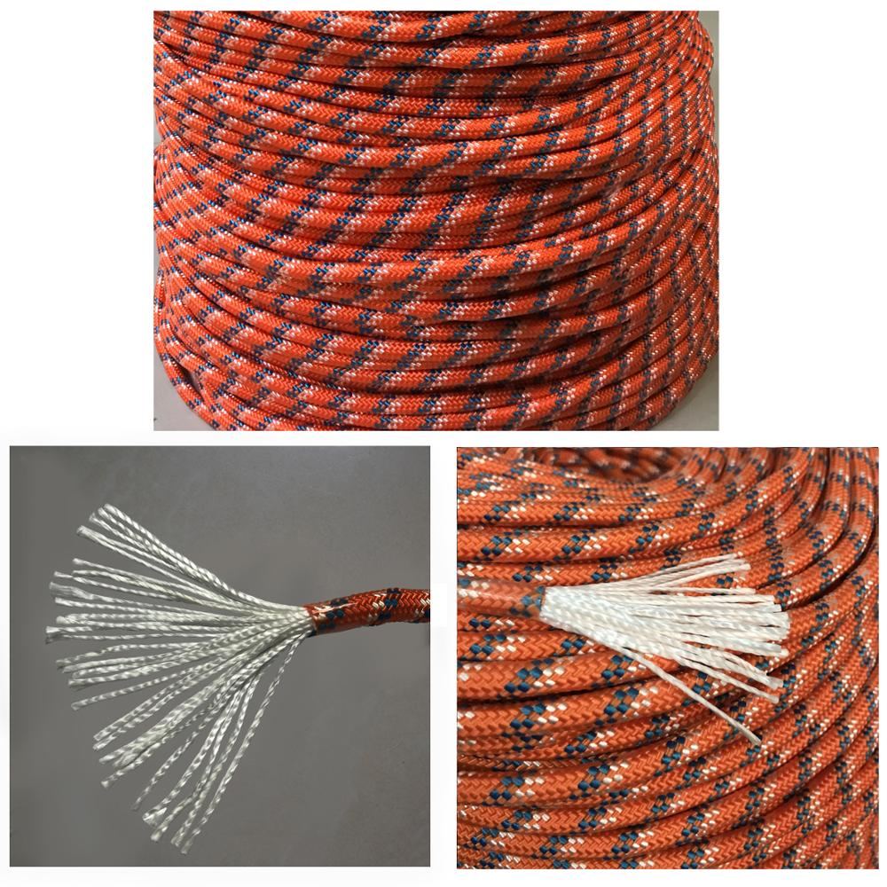 Climbing-Rope Hiking-Accessory-Tool Fox Desert Outdoor Wear-Resistant High-Strength 9mm-Diameter