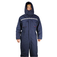 Winter working clothing Men wadded padded safety clothing outdoors work wear uniforms winter thicken warm protective overalls