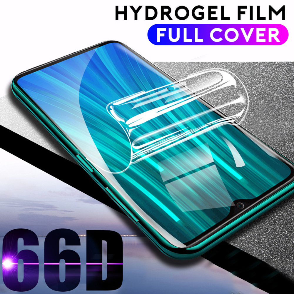 full cover <font><b>hydrogel</b></font> film for xiaomi <font><b>redmi</b></font> note 6 7 <font><b>8</b></font> 8T 9S pro phone screen protector <font><b>redmi</b></font> 6A 7A 8A protective film Not glass image