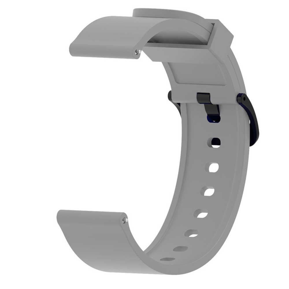Bracelet en Silicone pour Xiaomi Huami Amazfit Bip montre intelligente 20MM Bracelet de remplacement Bracelet accessoires intelligents