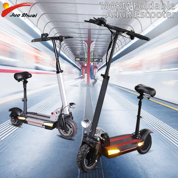 three wheel electric tricycle 8 inch 3 wheels electric bicycles seat max range 50km 48v 500w foldable kick electric scooter Dualtron 100km Adult Electric Scooter with Seat 48V 500W 10inch Foldable Hoverboard 48V 26AH Long Skateboard E Scooter No Tax