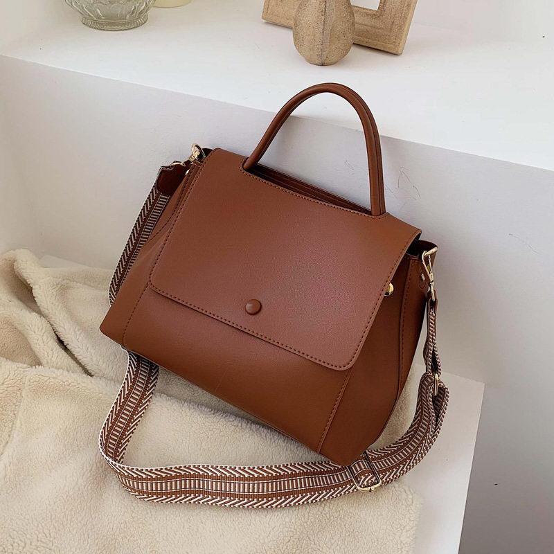 DIINOVIVO Casual Lady Messenger Shoulder Bag Female Top-handle Bags PU Leather Handbag Crossobody Bags For Women Totes WHDV1373