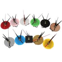 Montre à Quartz silencieuse, 1 pièce, bricolage, horloge murale ronde, mécanisme de mouvement, pièces de rechange, besoin d'outils, décoration de la maison