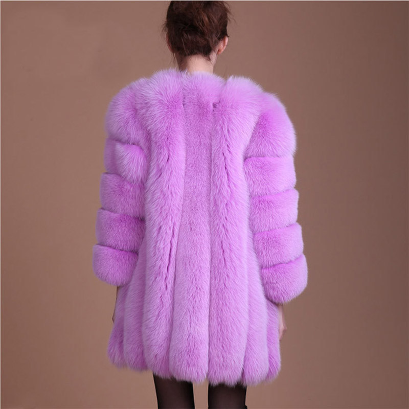 Jacket Coat Winter Women Casual Elegant Plus Size Designer Warm Fashion Fluffy Shaggy Coat Faux Fur High Quality New Arrival in Faux Fur from Women 39 s Clothing