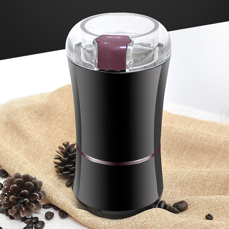 150W Electric Grinder for Coffee Herb Bean Spice Seeds Nuts Grains for Home Shops Stainless Steel Blades Coffee Mill Machine in Electric Coffee Grinders from Home Appliances