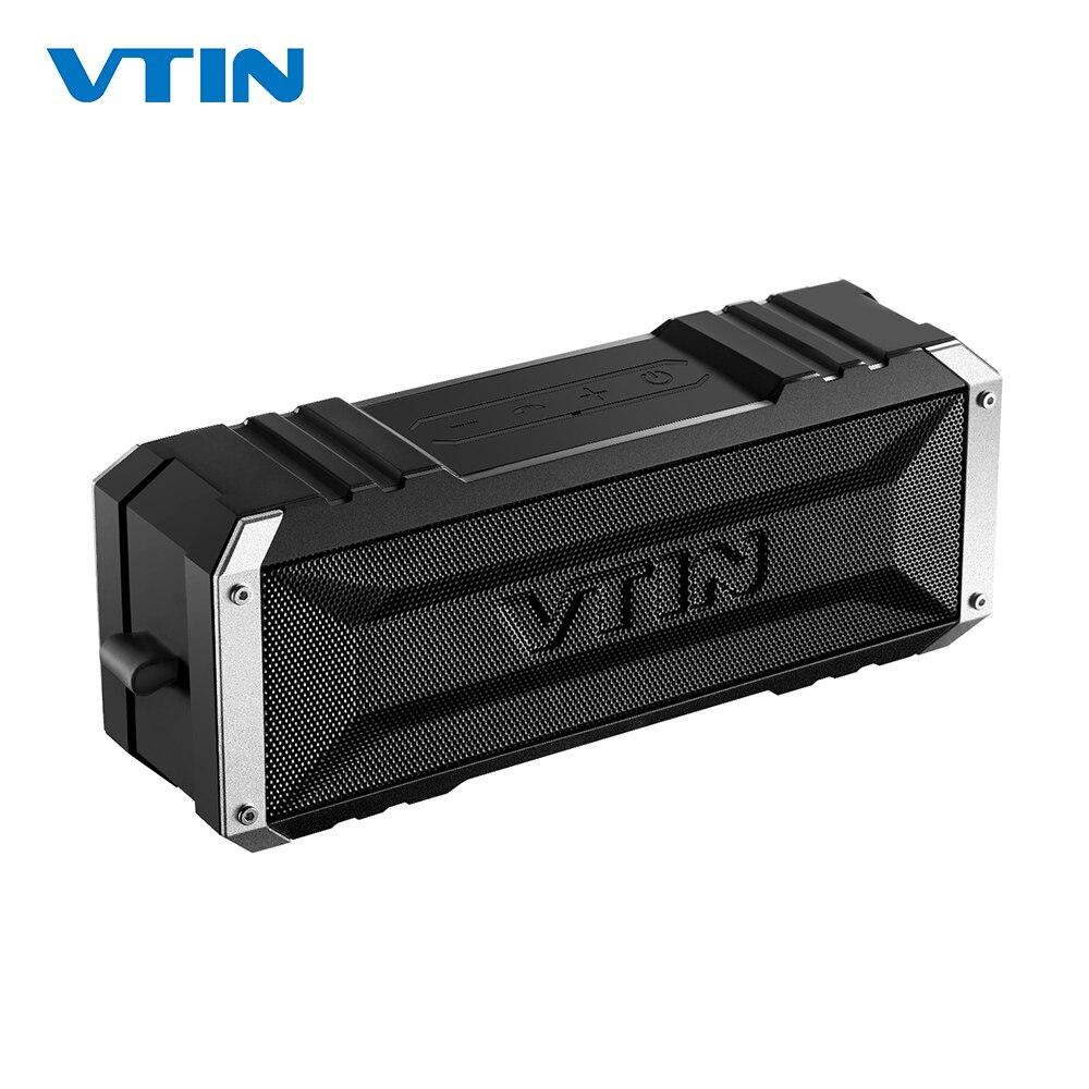 VTIN Punker Портативный беспроводной Bluetooth динамик 20 Вт Выход двойной 10 Вт водители Открытый водонепроницаемый динамик с микрофоном для смартфо...