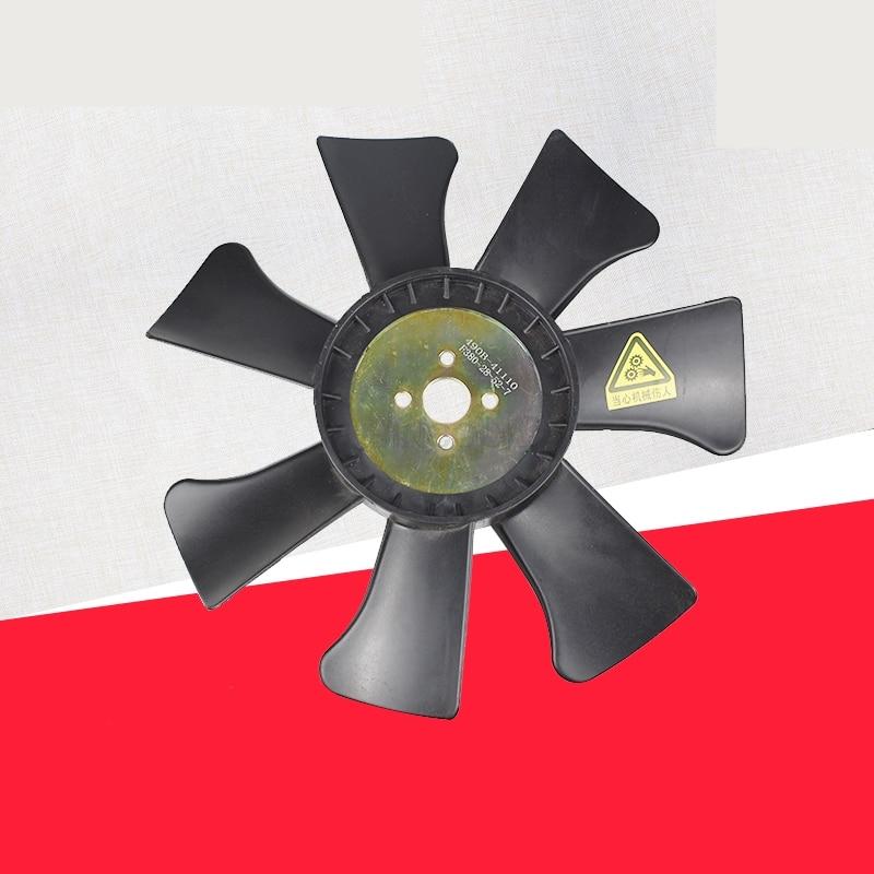 Вентилятор погрузчика blade радиатор ребристый вентилятор резервуар для воды радиатор подходит для вилочного погрузчика 3T Подлинная вилка к...
