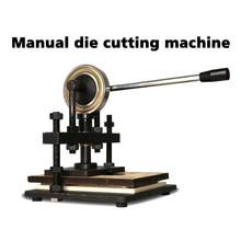Hand-operated Die Cutting Machine Classic Single Wheel Hand Leather Cutting Machine цена