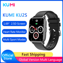Kumi original ku2s relógio inteligente 1.69