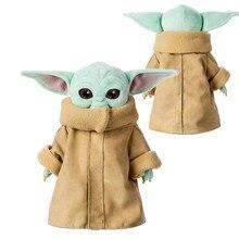 Disney 30cm bebé Yoda de felpa muñecas el mandaloriano Peluche niño Grogu figura de acción juguetes de la muñeca muñeco de Peluche bonito para niños regalo