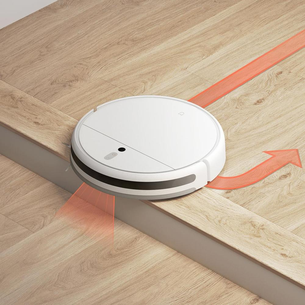 XIAOMI MIJIA Mi Sweeping Mopping Robot Vacuum Cleaner 1C for Home Auto Dust Sterilize 2500PA cyclone XIAOMI MIJIA Mi Sweeping Mopping Robot Vacuum Cleaner 1C for Home Auto Dust Sterilize 2500PA cyclone Suction Smart Planned WIFI