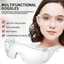 Safety Glasses Anti spit Block Saliva Splashing Anti dust Dustproof Professional Protective Safe Glasses For Personal Protection
