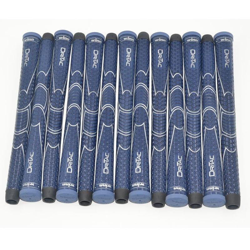 10 WINN DRITAC AVS MIDSIZE DARK BLUE GOLF GRIP. 5DT-BRD Free Shipping