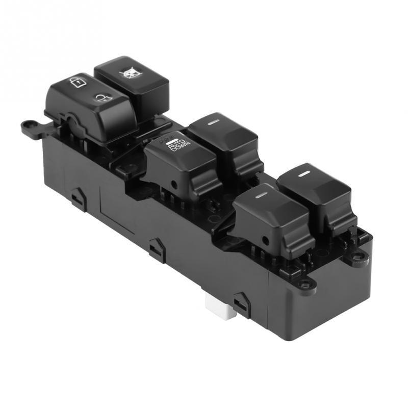 Acouto Power Window Master Control Switch for KIA Forte 2014 2015 2016 2017 2018 93570-B5000 Black