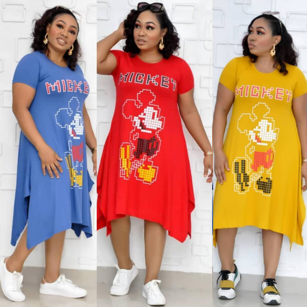 Casual African Design Dashiki Print Dress Loose Bazin Party Robe Gowns Africa Office Long Maxi Dresses Traditional Hipster
