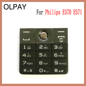 Image 5 - 100% новая Оригинальная клавиатура сотового телефона Philips E570 E571 CTE570 для Philips E570 E571 CTE570