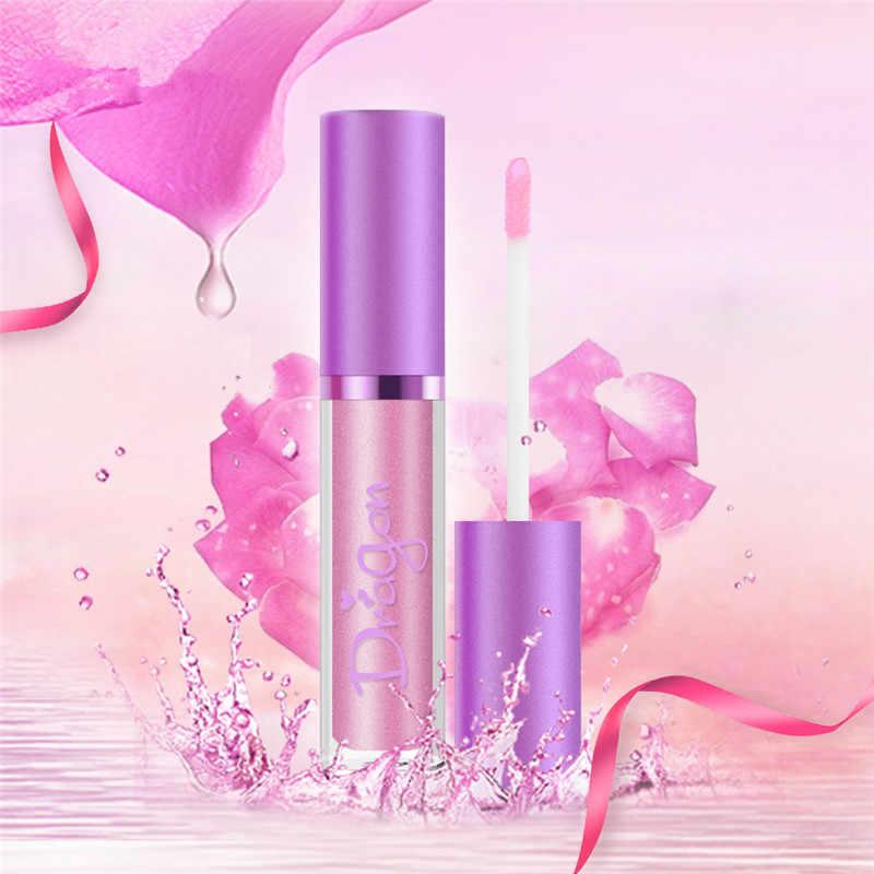 Lipstik Perona Pipi Tahan Nude Matte Shimmer Lip Gloss Kosmetik Tahan Air Beludru Bibir Halus Warna Bibir Maquillaje TSLM1