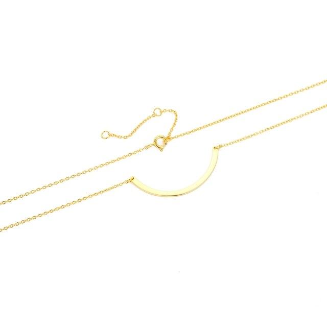 Anenjery 925 srebro naszyjnik Unisex płaski wąż Link Chain karabińczyk collares naszyjniki dla kobiet mężczyzn