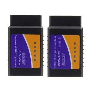 Image 3 - Herramienta de diagnóstico de coche, accesorio OBD2 ELM327 Wifi V1.5 OBDII Auto escáner ELM 327 Bluetooth/WiFi V1.5 OBD 2, lector de código para Android/IOS/PC