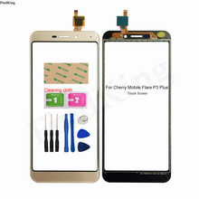5.5''Mobile Touch Panel For Cherry Mobile Flare P3 Plus Touch Screen Digitizer Panel Front Glass Sensor Replacemet Part