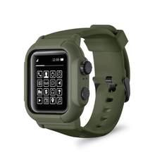 Bracelet Sport étanche en Silicone, pour iwatch Apple Watch série 5 4 3 2, 42mm, 44mm, 42MM, 44mm, accessoires