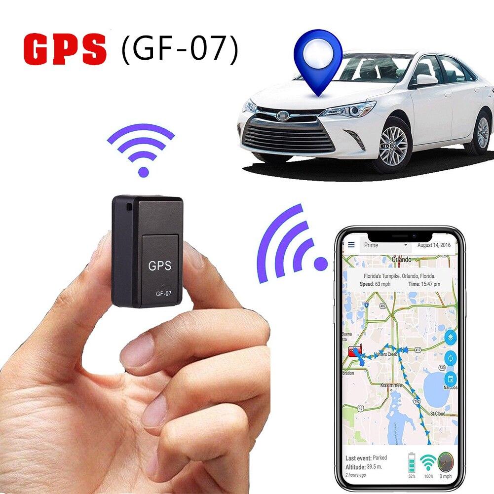 Универсальный GF07 GSM Мини Автомобильный LBS трекер Магнитный автомобиль грузовик GPS локатор анти-потеря запись отслеживание устройство Can Гол...