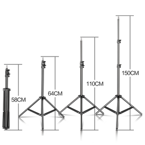 """Image 4 - 150cm/59inch Photography Tripod Light Stand With 1/4"""" Screw For Brithday Party Meeting Travel Wedding"""