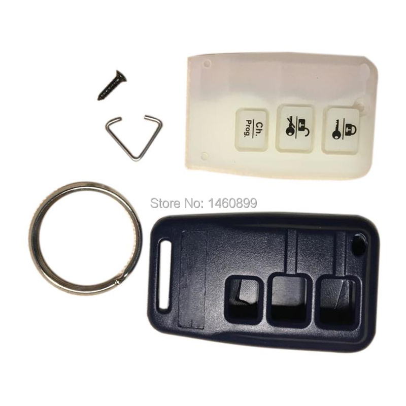 10 PCS/lot Remote Body Case Keychain Trinket For 2 Way Car Anti-theft Alarm System One Way Remote Control Starline B9 B6