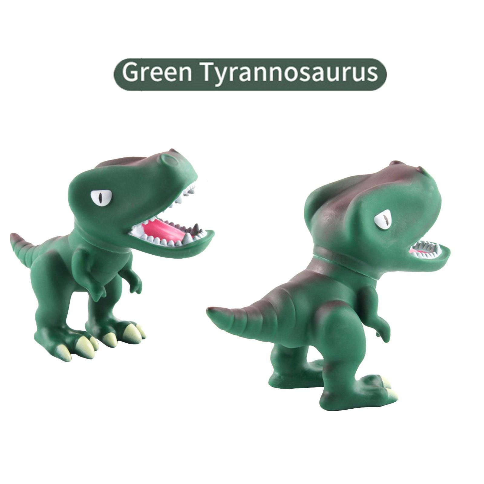modelo dinossauro borracha macia 3d 01