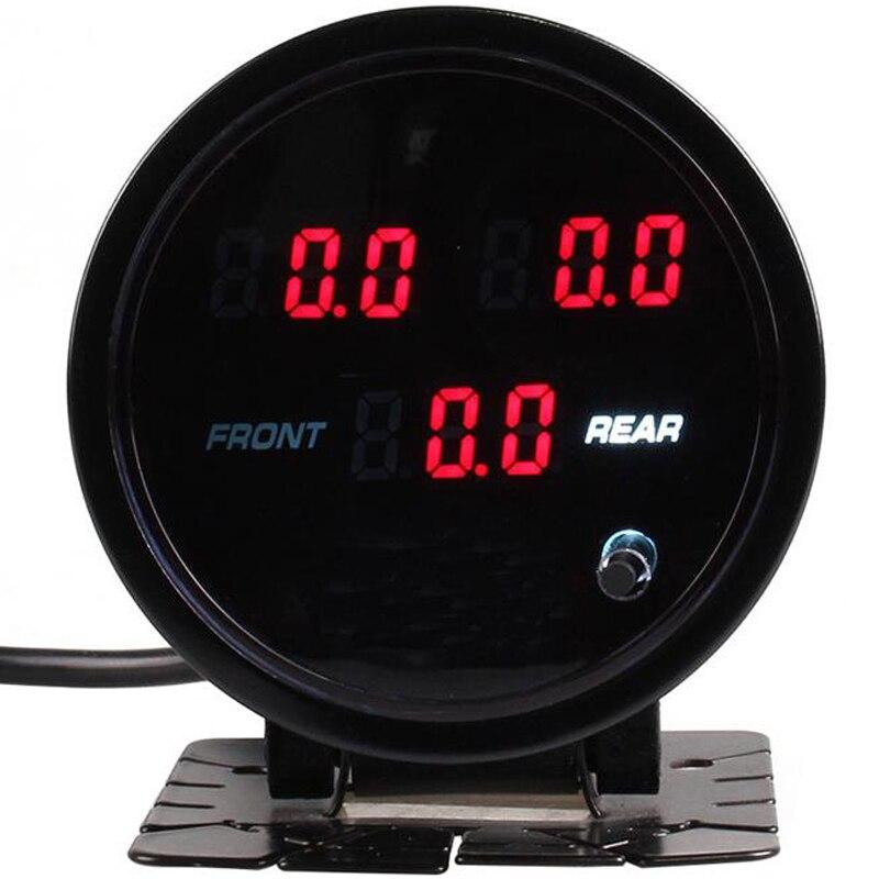60 мм цифровой датчик давления воздуха высокая точность барометры мониторинг инструменты тестер для автомобиля мотоцикла велосипед 5 шт. 1/...