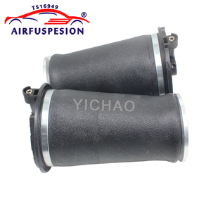Image 5 - Free shipping 4pcs Gen II front rear Air Spring Bag for Range Rover P38A P38 Air Ride Suspension Springs REB000550 RKB101460