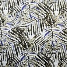 Vintage hojas Impresión Digital tejido de tela de algodón de imitación tapicería decorativo sofá Interior sofá cubierta diseño de Mantel 140cm vender por 1 metros/lote